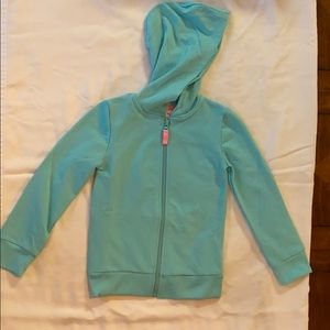 Tommy Bahama girls zip up sweater NWT Size: 4